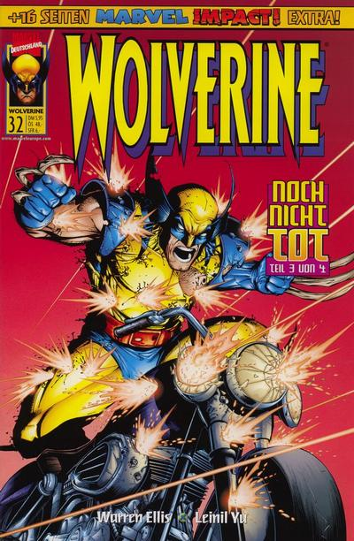 Cover for Wolverine (Panini Deutschland, 1997 series) #32