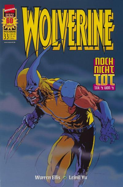 Cover for Wolverine (1997 series) #33