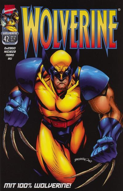 Cover for Wolverine (1997 series) #42