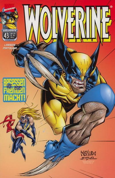 Cover for Wolverine (Panini Deutschland, 1997 series) #43