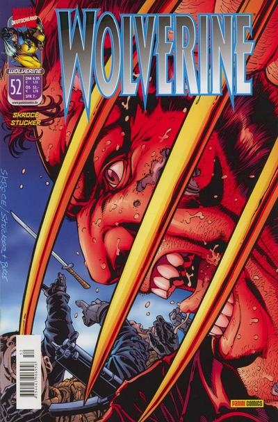 Cover for Wolverine (1997 series) #52