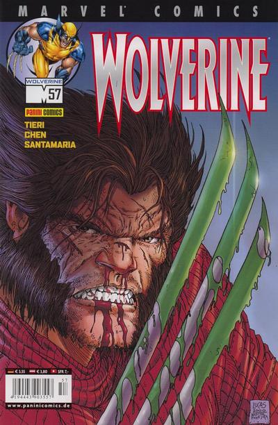 Cover for Wolverine (Panini Deutschland, 1997 series) #57