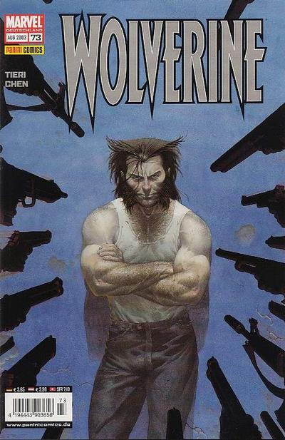 Cover for Wolverine (1997 series) #73