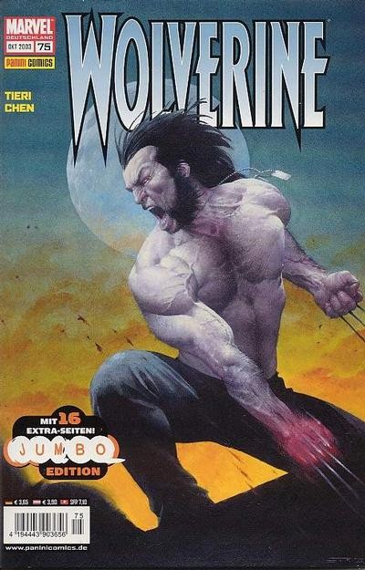 Cover for Wolverine (Panini Deutschland, 1997 series) #75
