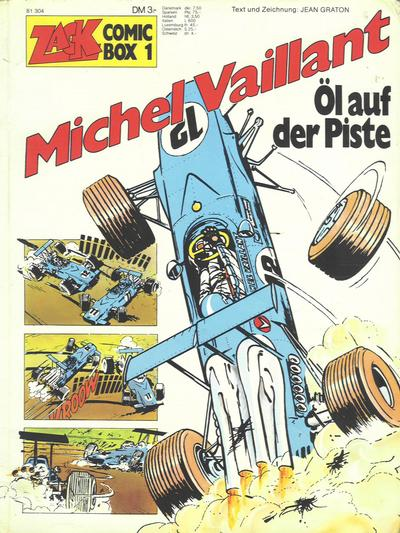 Cover for Zack Comic Box (Koralle, 1972 series) #1 - Michel Vaillant  - Öl auf der Piste