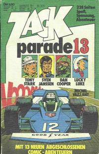 Cover Thumbnail for Zack Parade (Koralle, 1973 series) #13
