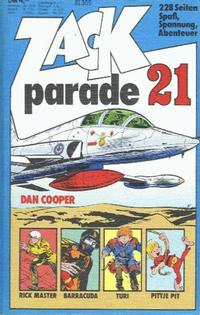 Cover Thumbnail for Zack Parade (Koralle, 1973 series) #21
