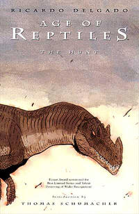 Cover Thumbnail for Age of Reptiles: The Hunt (Dark Horse, 1997 series)