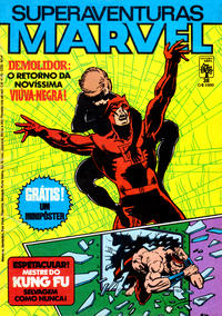 Cover Thumbnail for Superaventuras Marvel (Editora Abril, 1982 series) #38