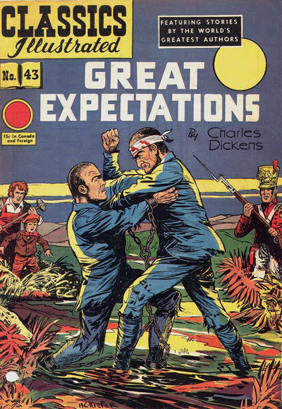 Cover for Classics Illustrated (Gilberton, 1947 series) #43 [HRN 62] - Great Expectations