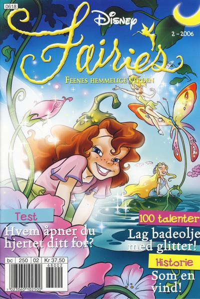 Cover for Disney Fairies – Feenes Hemmelige Verden (2006 series) #2/2006