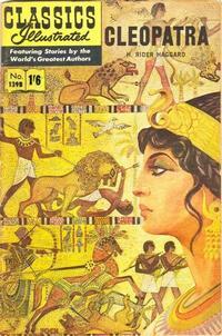 Cover Thumbnail for Classics Illustrated (Thorpe & Porter, 1951 series) #139B [HRN 139B] - Cleopatra