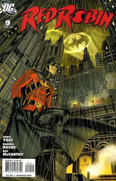 Cover for Red Robin (DC, 2009 series) #9