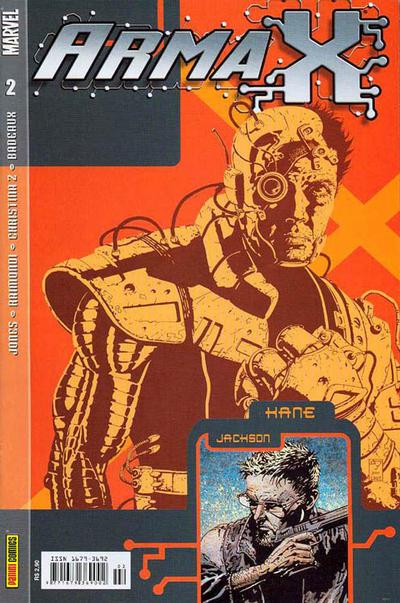 Cover for Arma X (Panini Brasil, 2003 series) #2