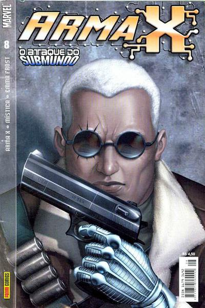 Cover for Arma X (Panini Brasil, 2003 series) #8