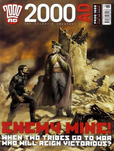 Cover for 2000 AD (Rebellion, 2001 series) #1668