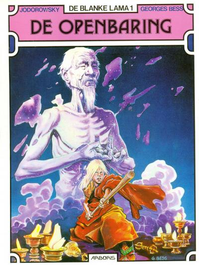 Cover for De blanke lama (1989 series) #1