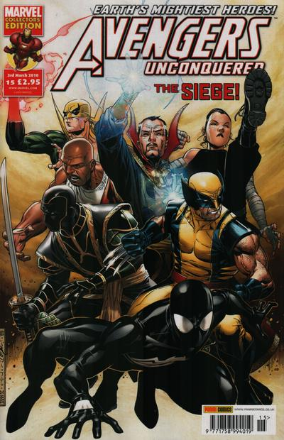 Cover for Avengers Unconquered (Panini UK, 2009 series) #15