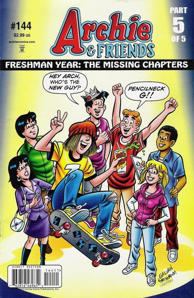 Cover for Archie & Friends (Archie, 1992 series) #144