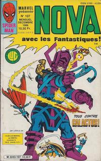 Cover Thumbnail for Nova (Editions Lug, 1978 series) #107
