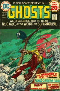 Cover Thumbnail for Ghosts (DC, 1971 series) #33