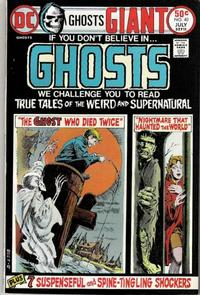 Cover Thumbnail for Ghosts (DC, 1971 series) #40