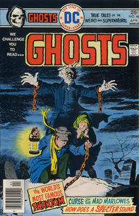 Cover Thumbnail for Ghosts (DC, 1971 series) #46