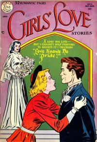 Cover Thumbnail for Girls' Love Stories (DC, 1949 series) #12