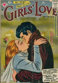 Cover Thumbnail for Girls' Love Stories (DC, 1949 series) #52
