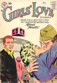 Cover Thumbnail for Girls' Love Stories (DC, 1949 series) #54