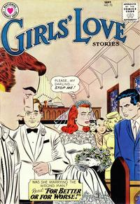 Cover Thumbnail for Girls' Love Stories (DC, 1949 series) #73