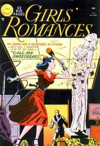 Cover Thumbnail for Girls' Romances (DC, 1950 series) #7