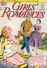 Cover Thumbnail for Girls' Romances (DC, 1950 series) #34