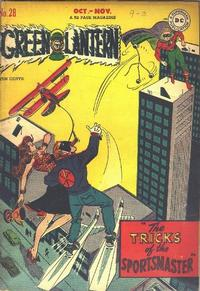 Cover Thumbnail for Green Lantern (DC, 1941 series) #28