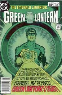 Cover Thumbnail for Green Lantern (DC, 1976 series) #155 [Newsstand Edition]