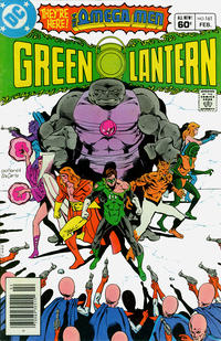 Cover Thumbnail for Green Lantern (DC, 1976 series) #161 [Newsstand]