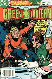 Cover Thumbnail for Green Lantern (DC, 1976 series) #162 [Newsstand]