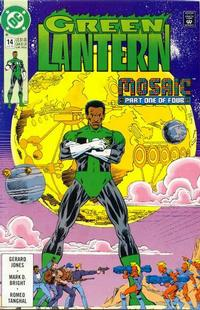 Cover Thumbnail for Green Lantern (DC, 1990 series) #14 [Direct]