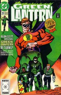 Cover Thumbnail for Green Lantern (DC, 1990 series) #19 [Direct]