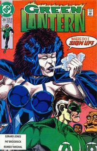 Cover Thumbnail for Green Lantern (DC, 1990 series) #20 [Direct]