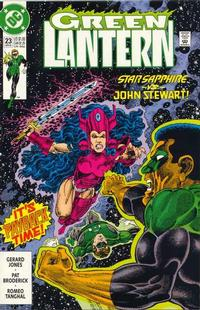 Cover Thumbnail for Green Lantern (DC, 1990 series) #23