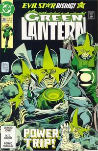 Cover Thumbnail for Green Lantern (DC, 1990 series) #28