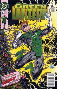 Cover Thumbnail for Green Lantern (DC, 1990 series) #36