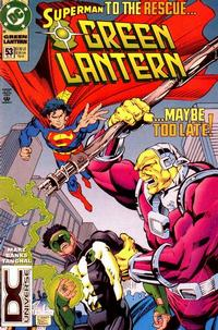 Cover Thumbnail for Green Lantern (DC, 1990 series) #53