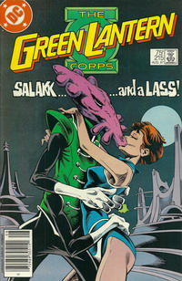 Cover Thumbnail for The Green Lantern Corps (DC, 1986 series) #215