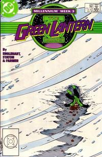 Cover Thumbnail for The Green Lantern Corps (DC, 1986 series) #220 [Direct]