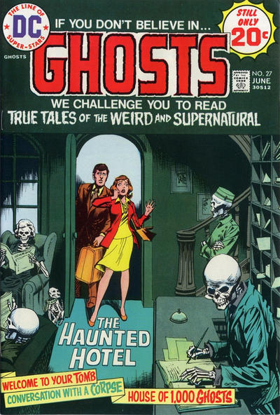 Cover for Ghosts (DC, 1971 series) #27