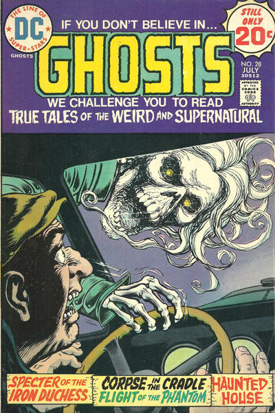 Cover for Ghosts (DC, 1971 series) #28
