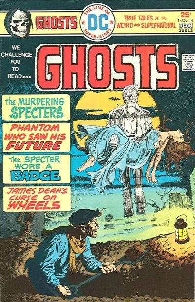 Cover for Ghosts (1971 series) #44