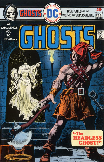 Cover for Ghosts (DC, 1971 series) #45